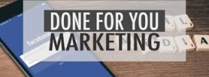 done for you marketing image