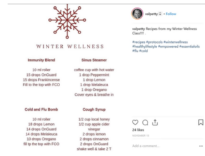val petty image on how to make money from instagram posts