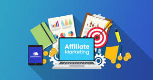 affiliate marketing image for online passive income ideas